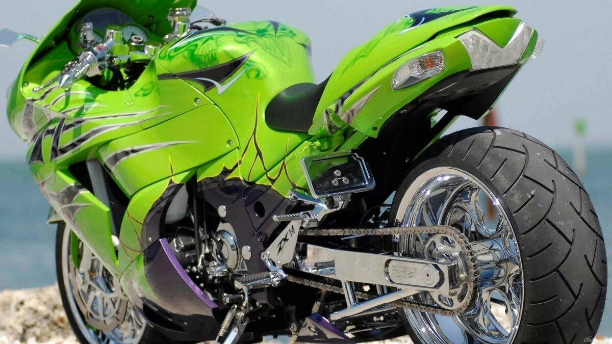 показать фото всех мотоциклов можно