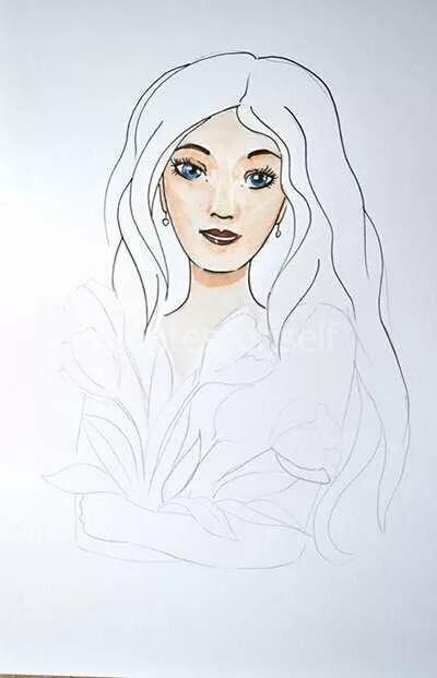 Елена прекрасная картинки карандашом