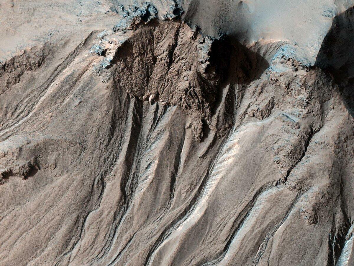 Поверхность Марс, спутник TGO