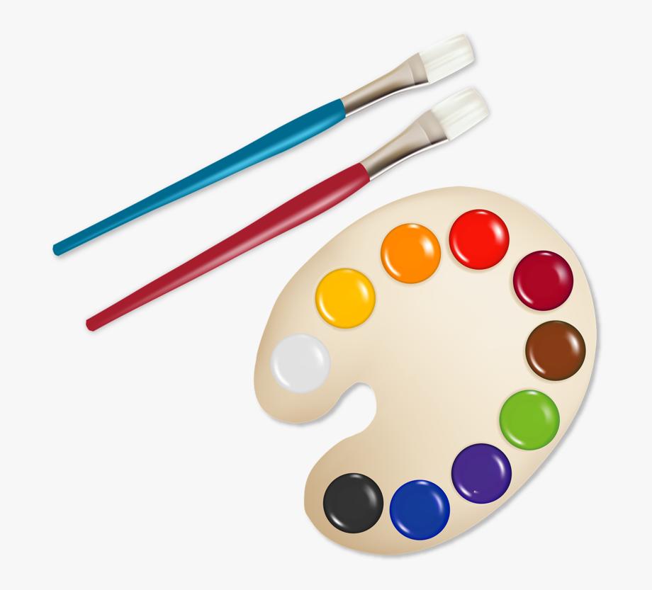 недавно картинки кисти и краски для рисования вал это