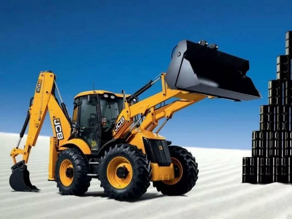 Тракторы строительная техника в картинках