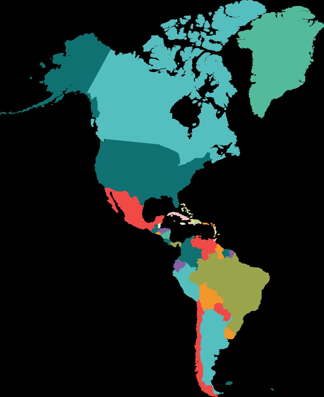 картинки северной америки и южной получится найти более