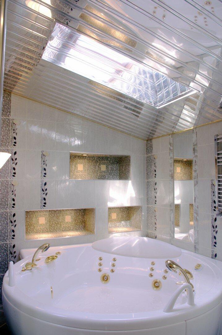 Реечный потолок №100