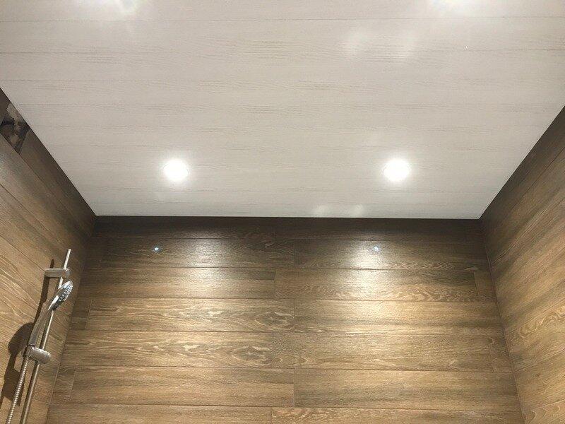 Реечный потолок №18