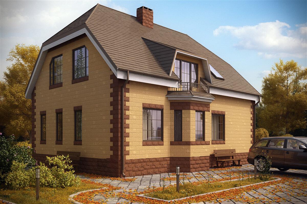 стиль фото построенных домов с ценами оттенки позволяют создать