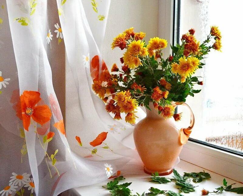 Картинка с днем рождения с цветами и шарами уже
