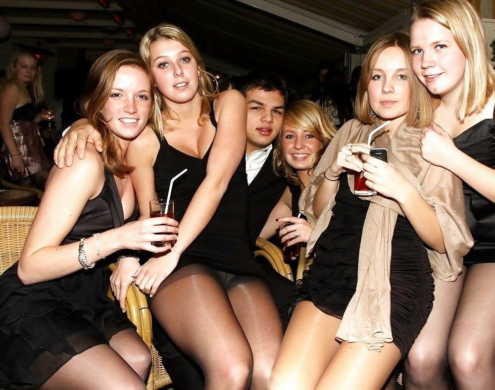 Girls party caught