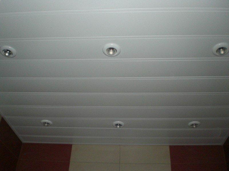 Реечный потолок №9