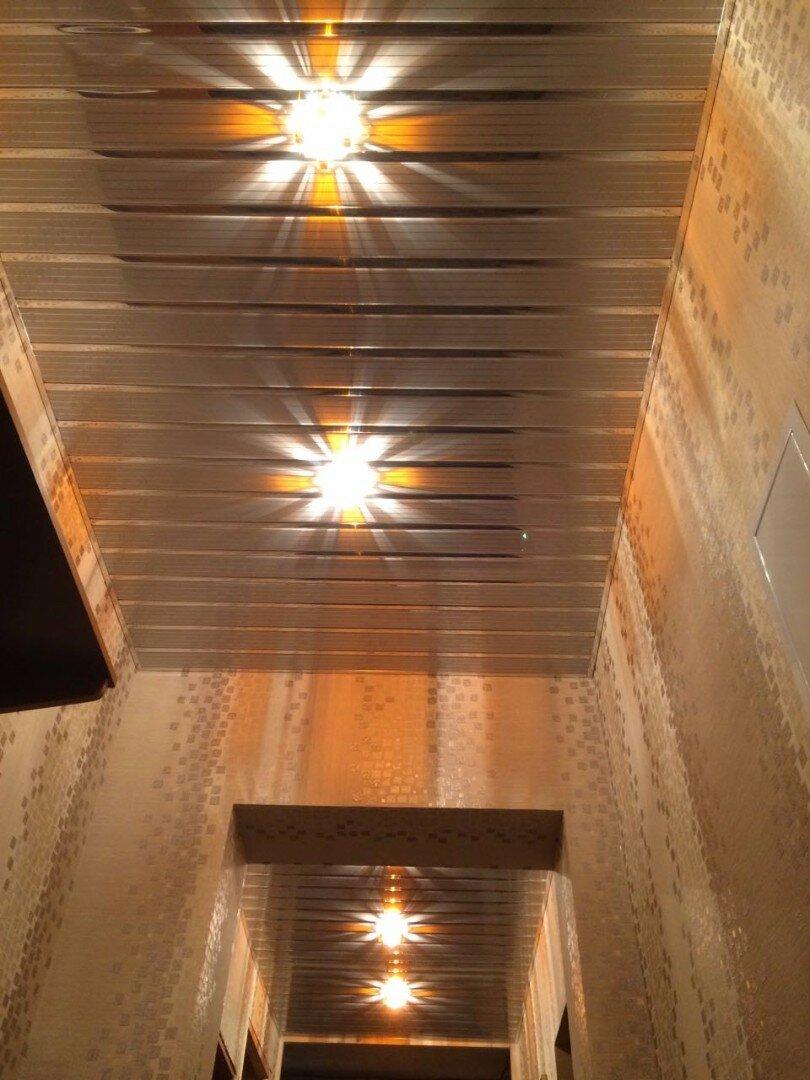 Реечный потолок №82