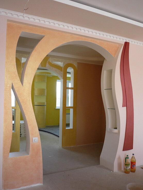 арки из гипсокартона уфа фото вот личная жизнь