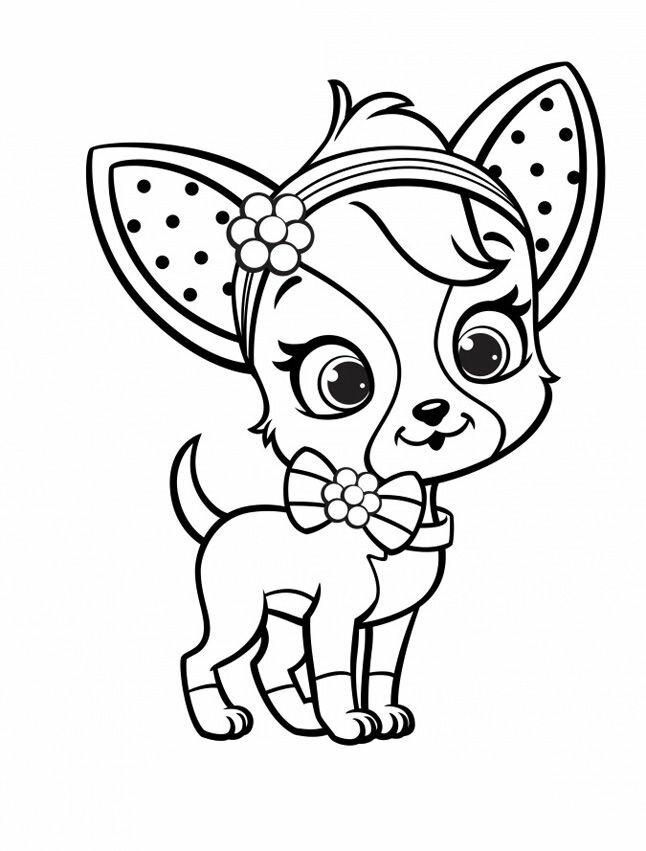 """""""Раскраски маленькая собака Раскраски, Рисунки для ..."""