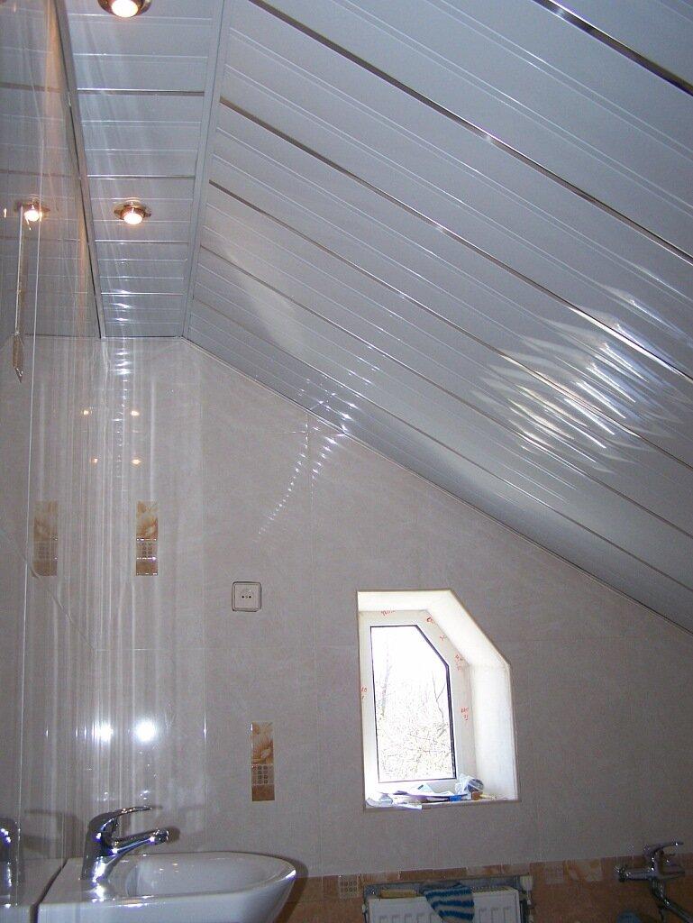 Реечный потолок №1