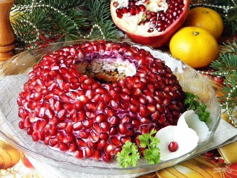 Салат янтарный браслет рецепт с фото