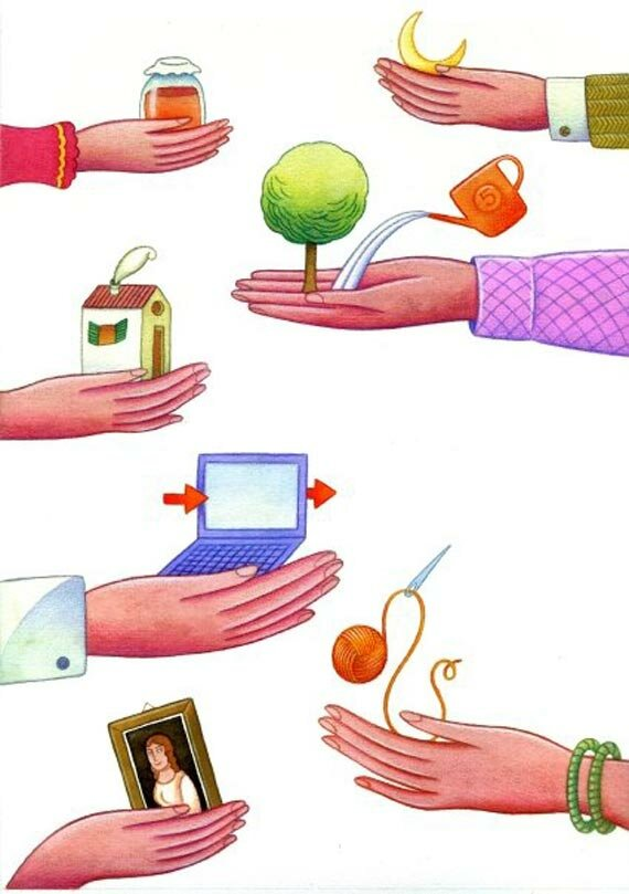 Бартер картинки для презентации