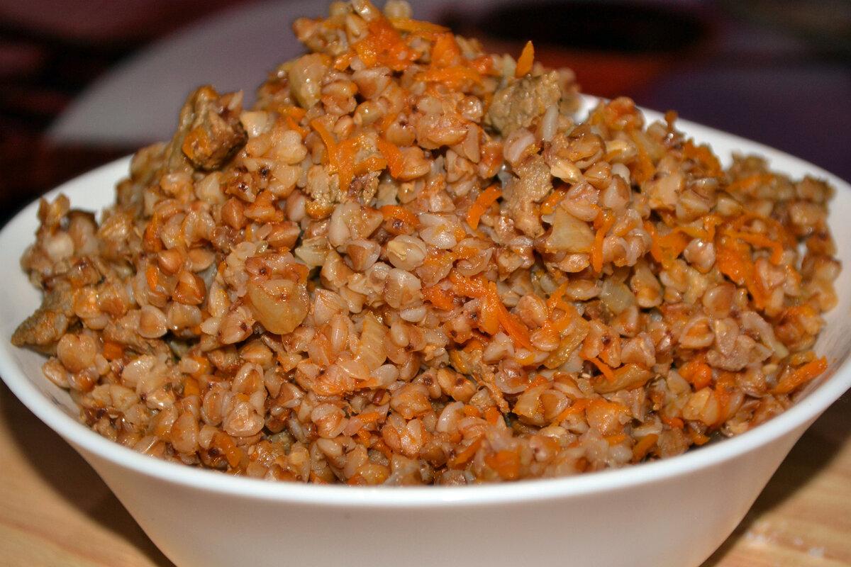 фото рецепт гречки с мясом создание