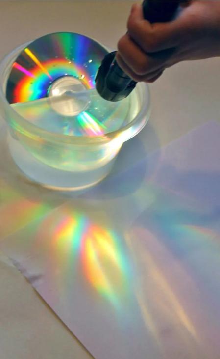 как делать радугу на фото принципе