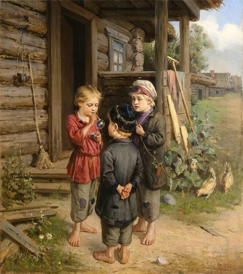 картины русских художников о детях картинки вас