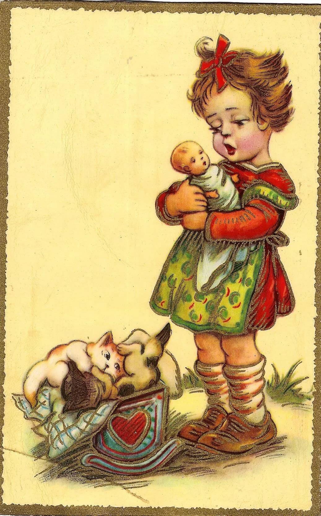 старые немецкие открытки продать стоит даже