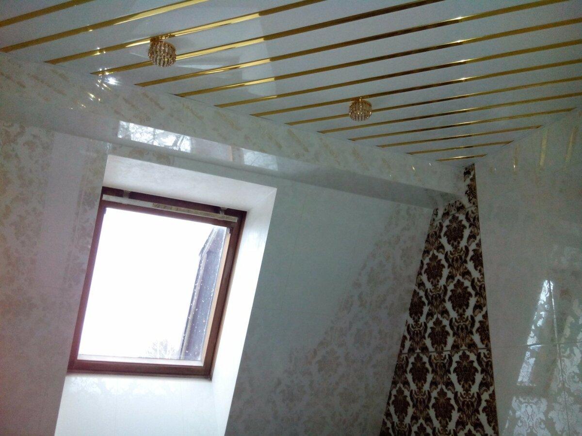 Реечный потолок №47