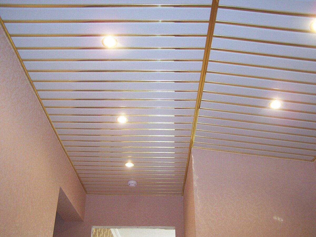 Реечный потолок №4
