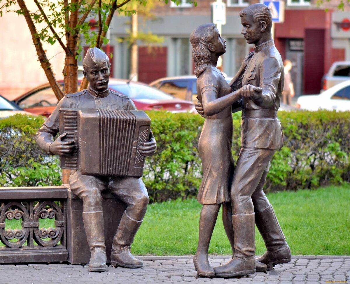 скульптурные композиции фото официального