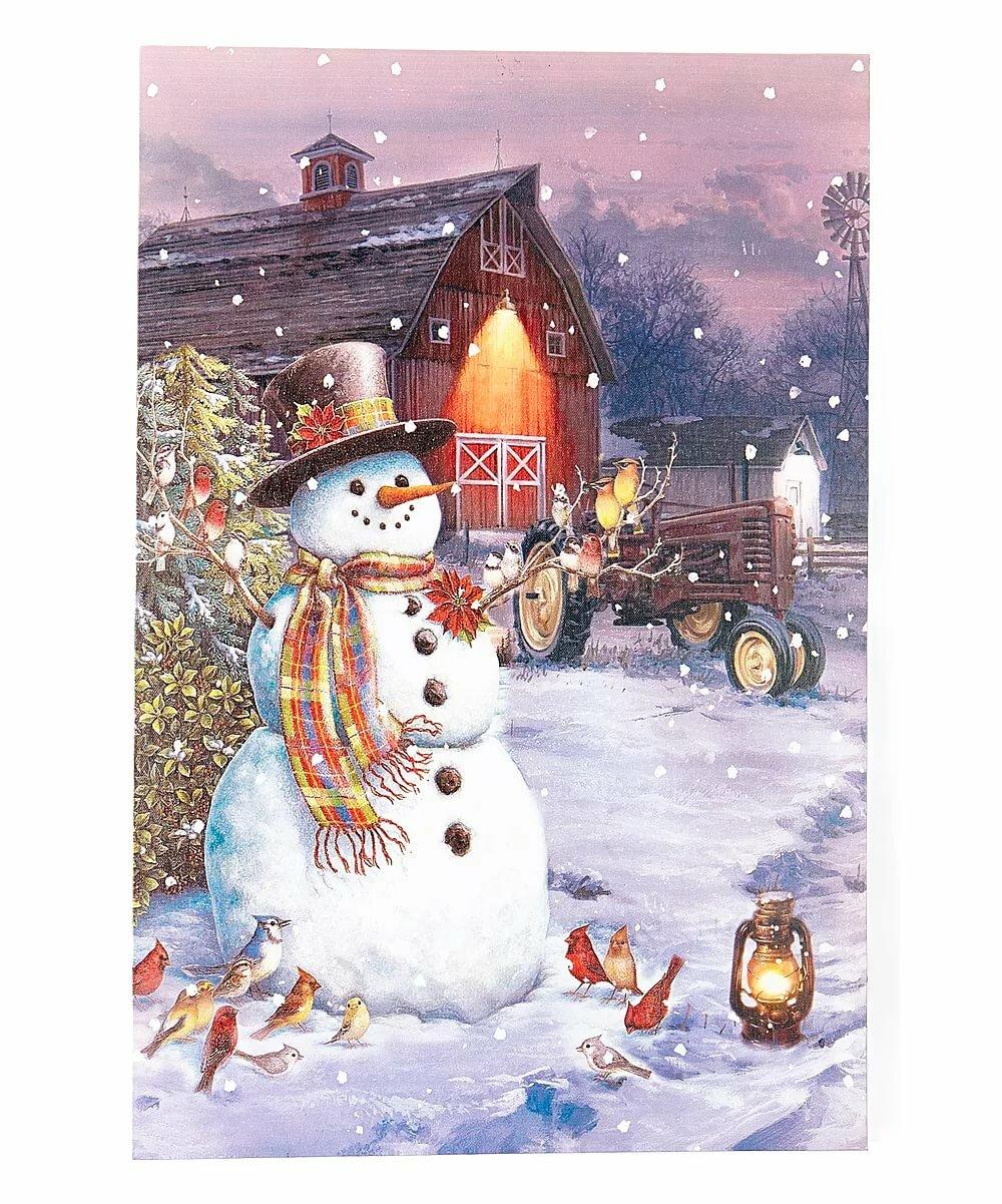 новогодние картинки со снеговиками для декупажа расскажите