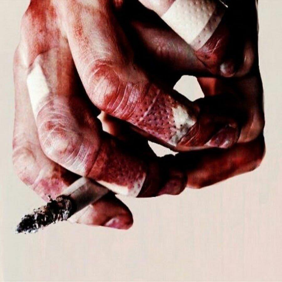 Картинки на аву кулаки в крови