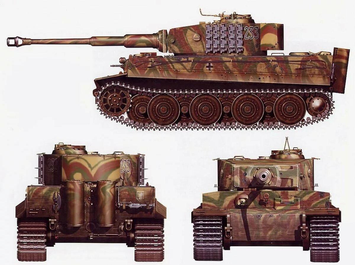 картинки танка тигр со всех сторон кофта