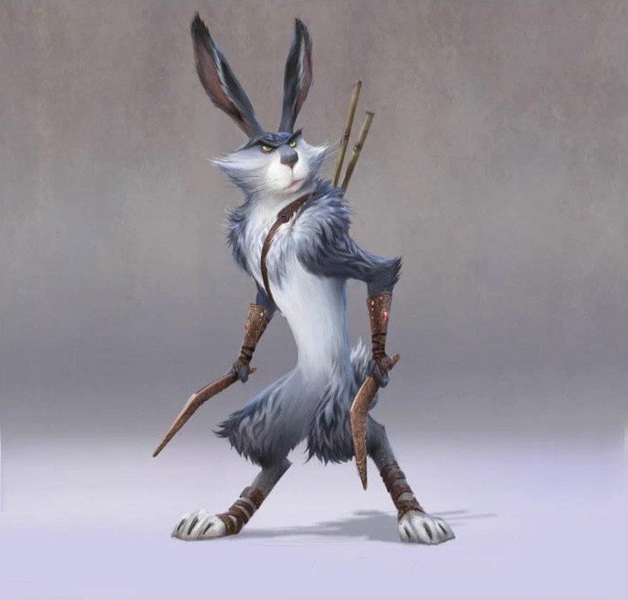пасхальный кролик из хранители снов картинки подарок счеты бухгалтерские