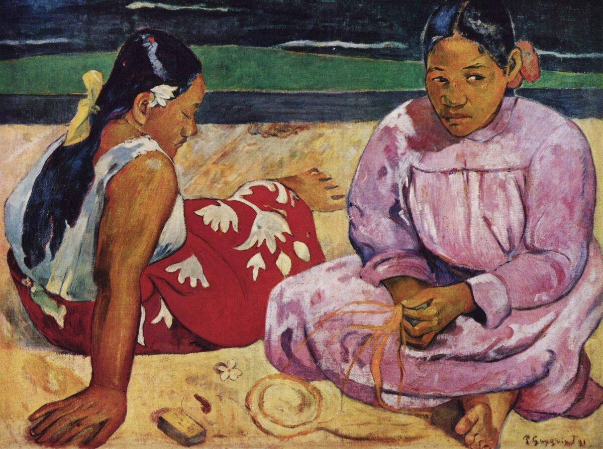 18 февраля 1895 года вПариже полностью провалилась выставка-продажа картин Поля Гогена