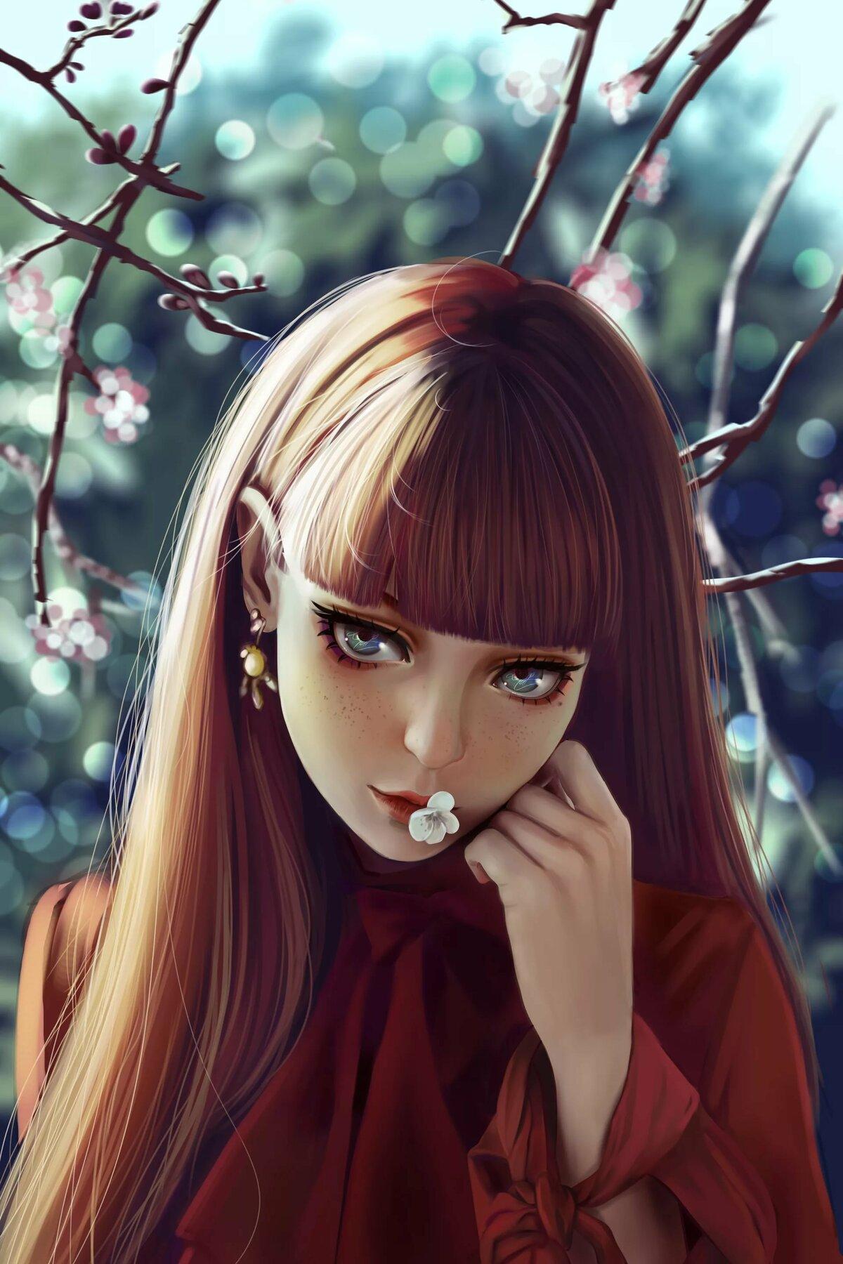 Красивые картинки девочек в вк на аву