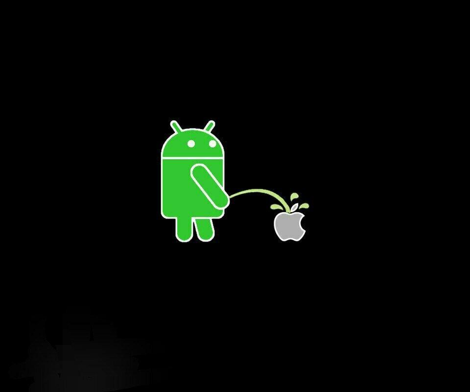 Картинки андроид против эпл