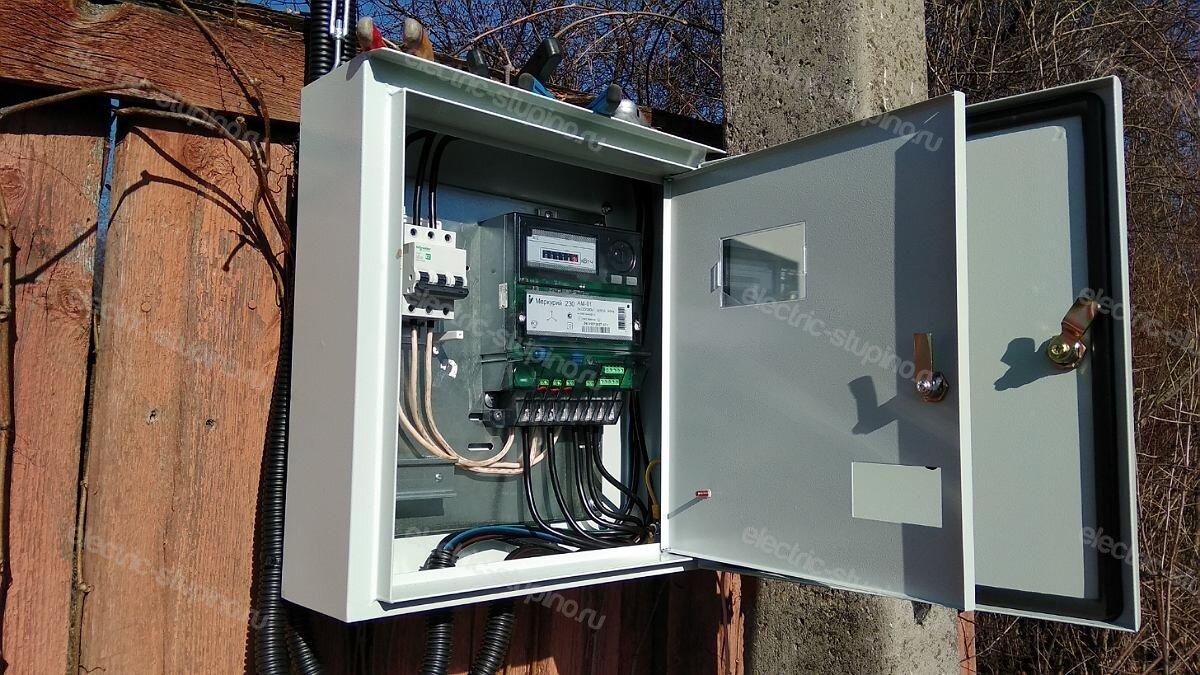 Материалы для подключения частного дома к электросети 15 кВт 380 В в Ступинском районе д Верзилово