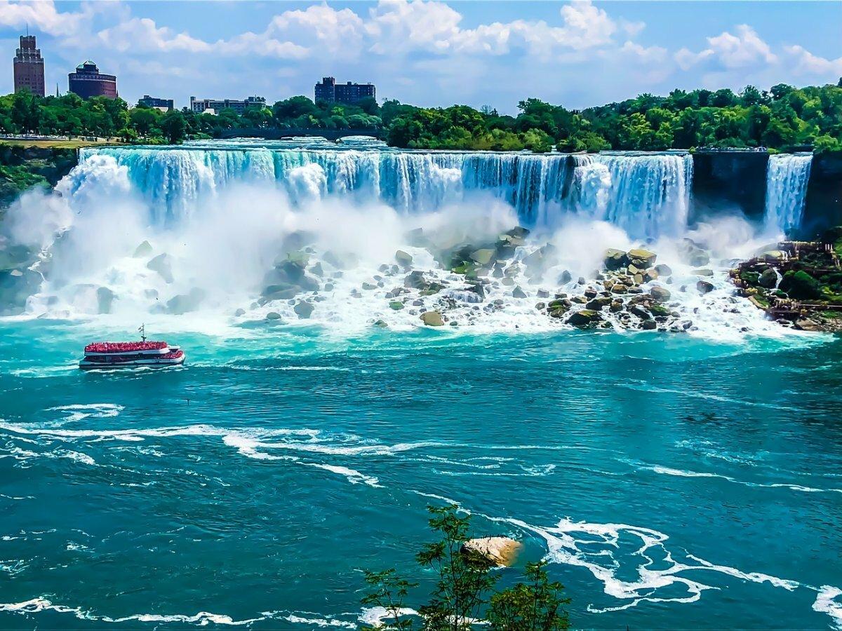 Картинки на ниагарския водопад