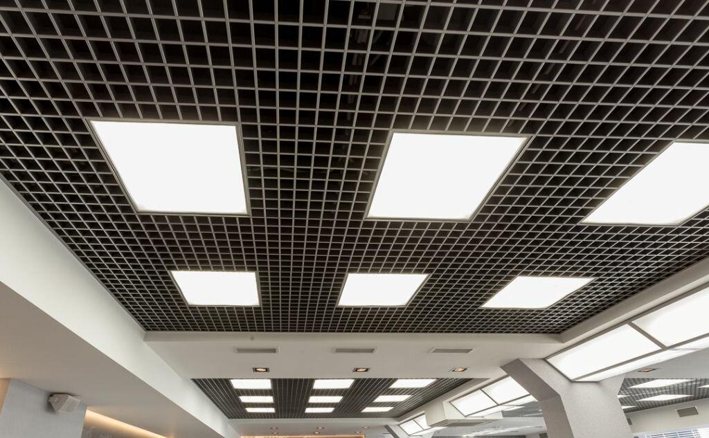 Потолок грильято фото №28
