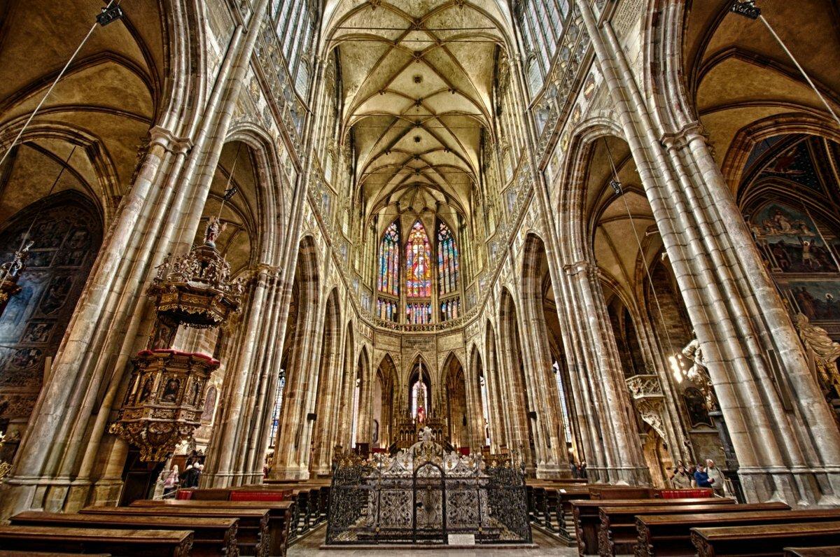 готика архитектура картинки собор святого вита