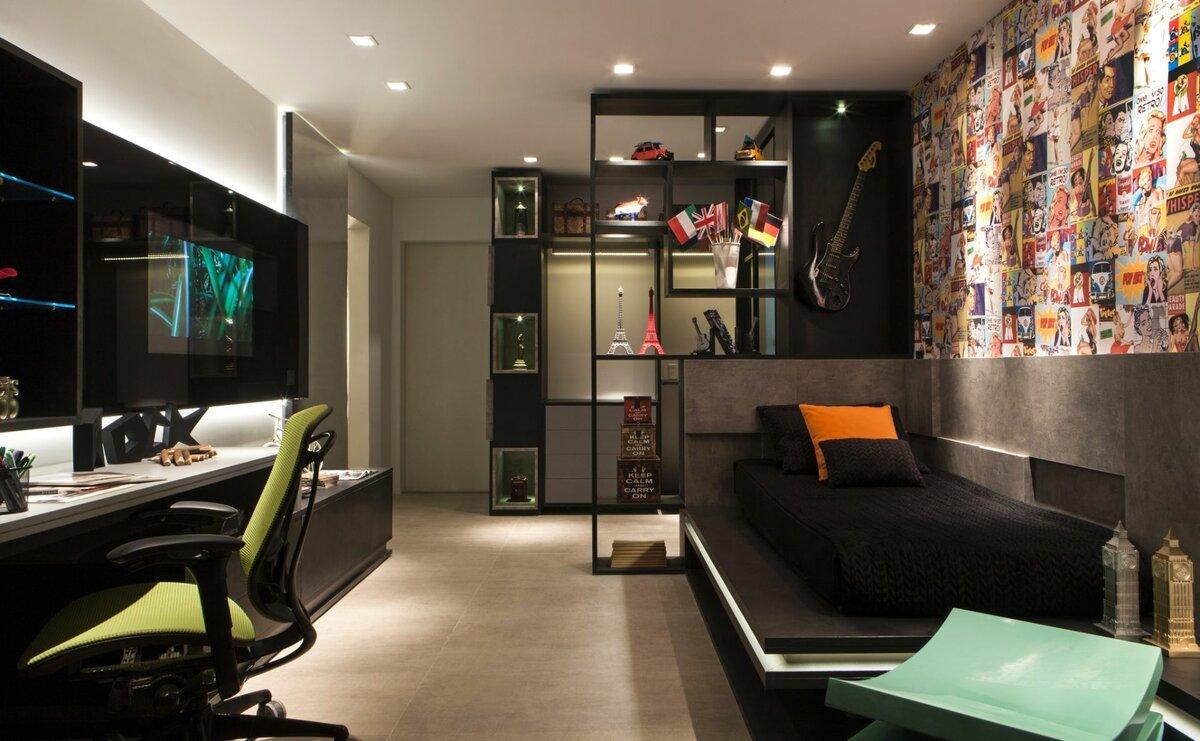 Комната для парней картинки