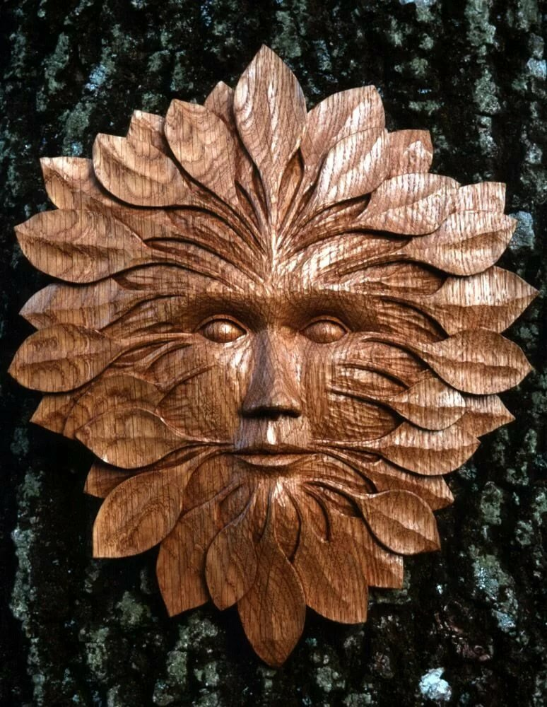 резьба по дереву маски фотографии рисунки и эскизы масло