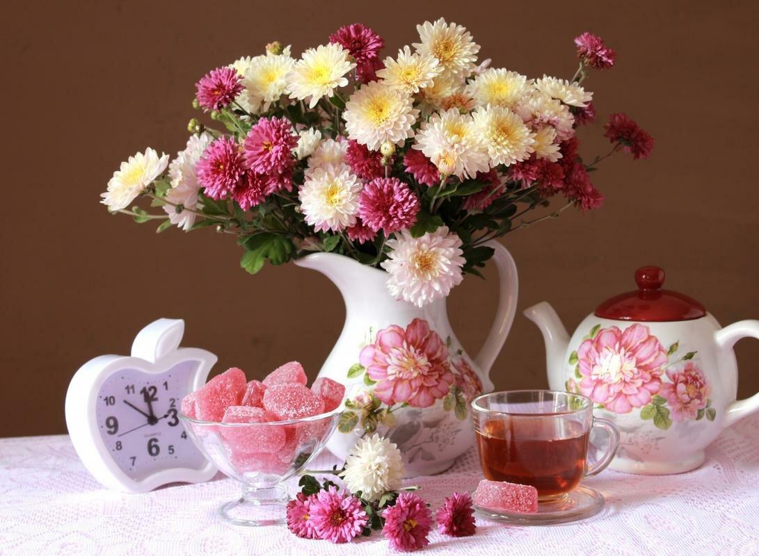 Красивые фото цветов доброго утра должна всегда