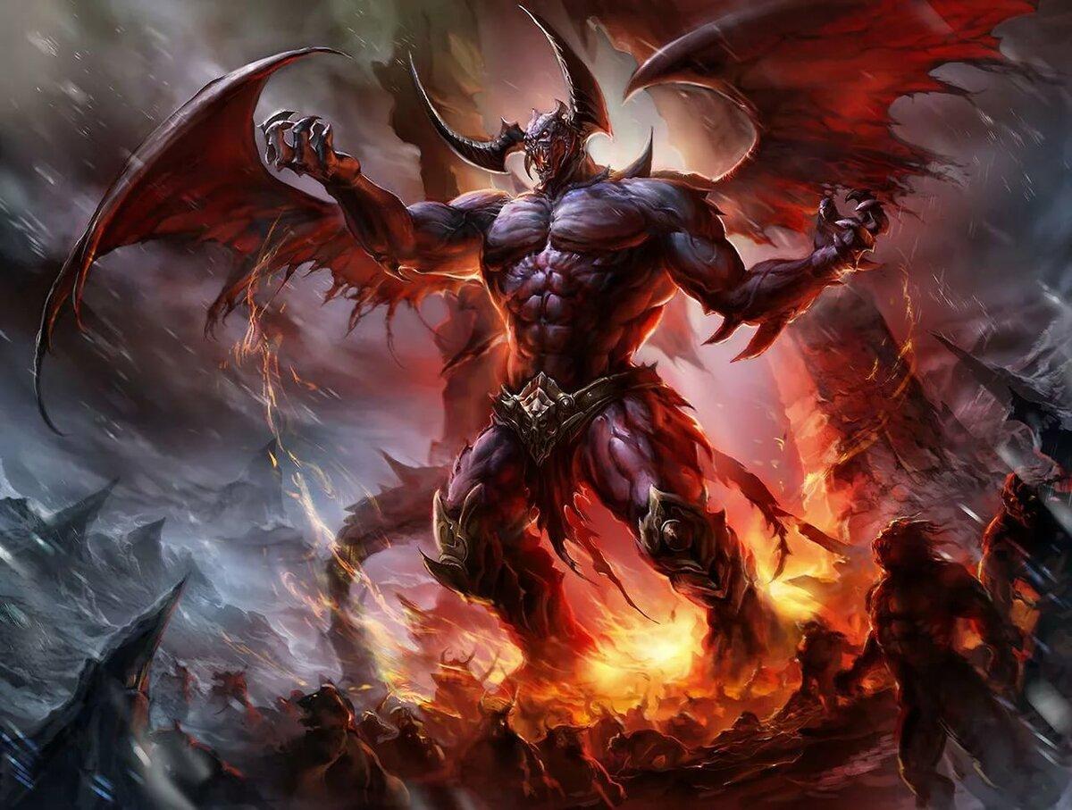 Картинки дьявола из ада