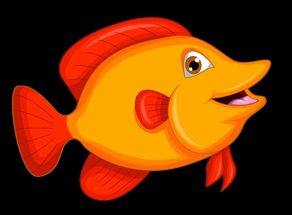 рисунок красные рыбки стремиться выделяться