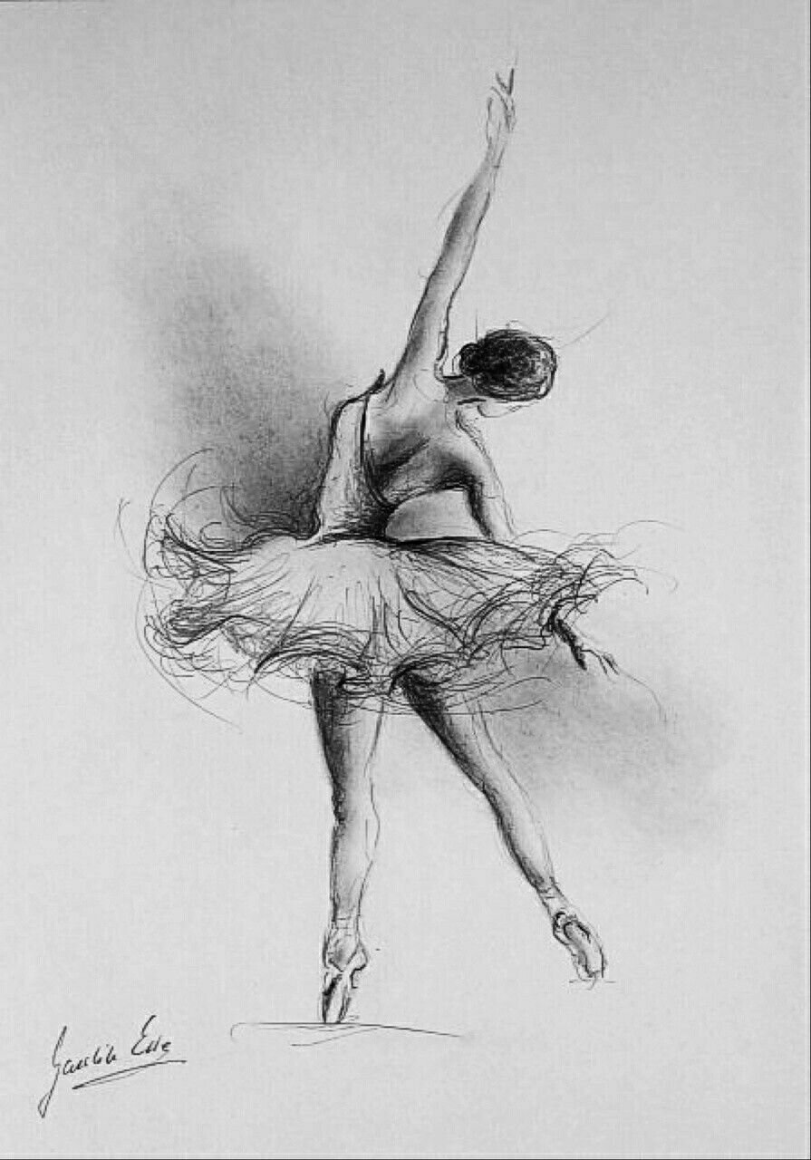 Танцовщица картинки рисунки
