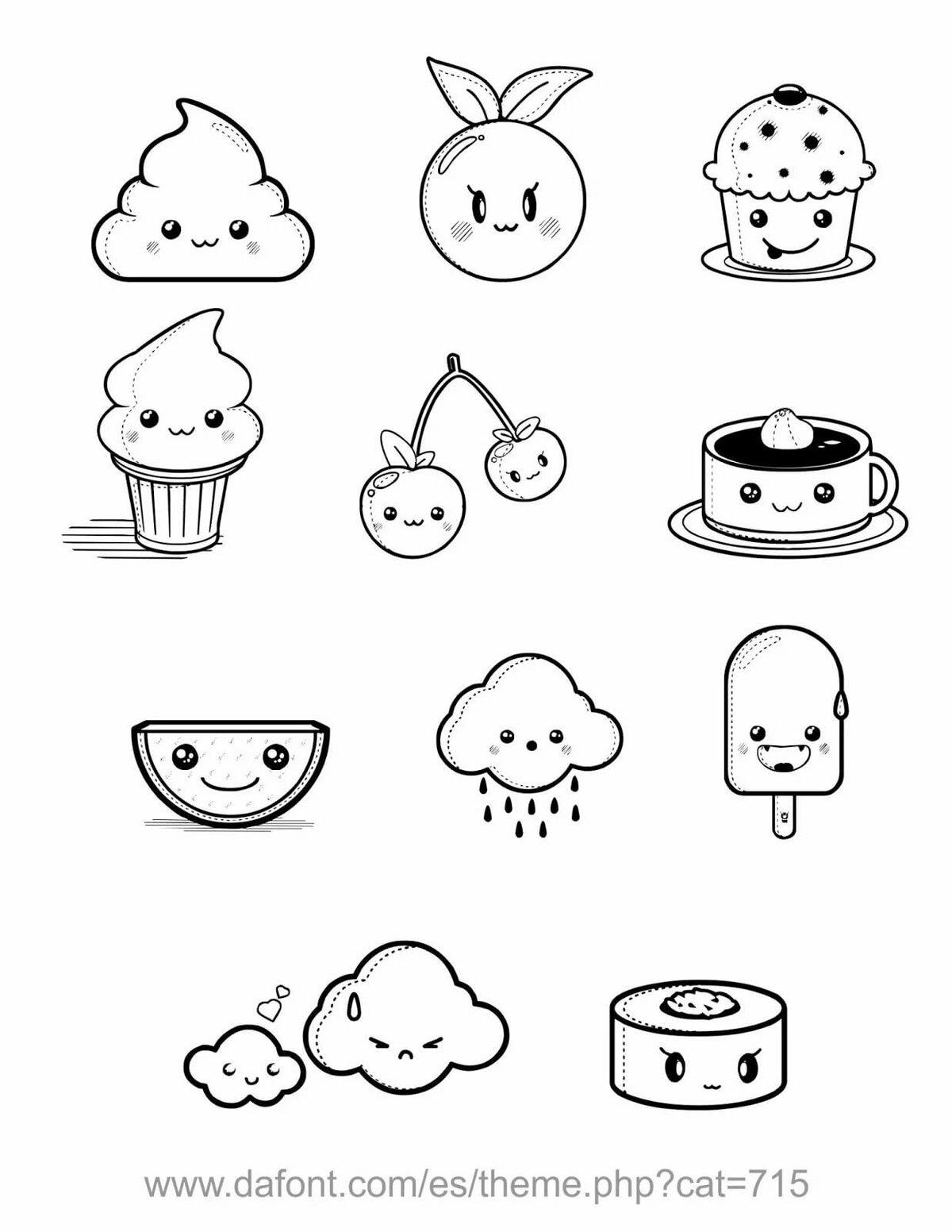 Рисунки для личного дневника легкие для срисовки