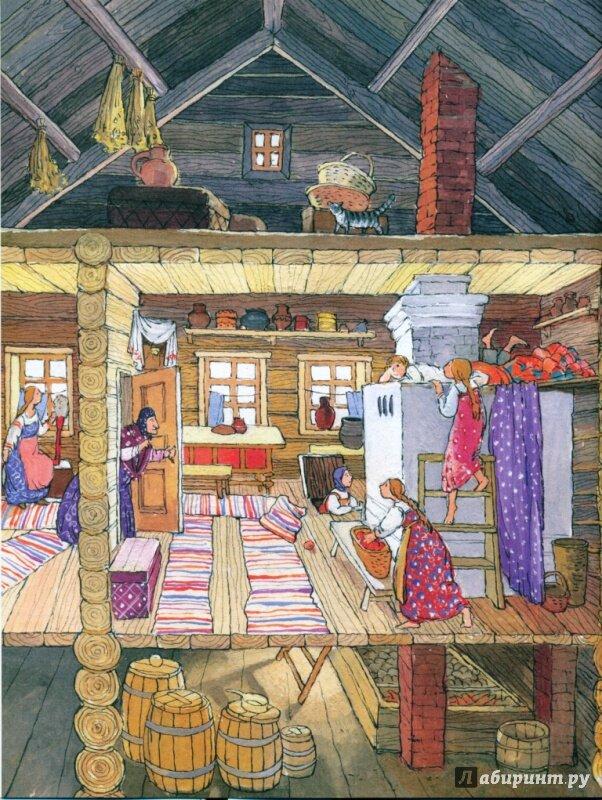Древний русский дом картинки