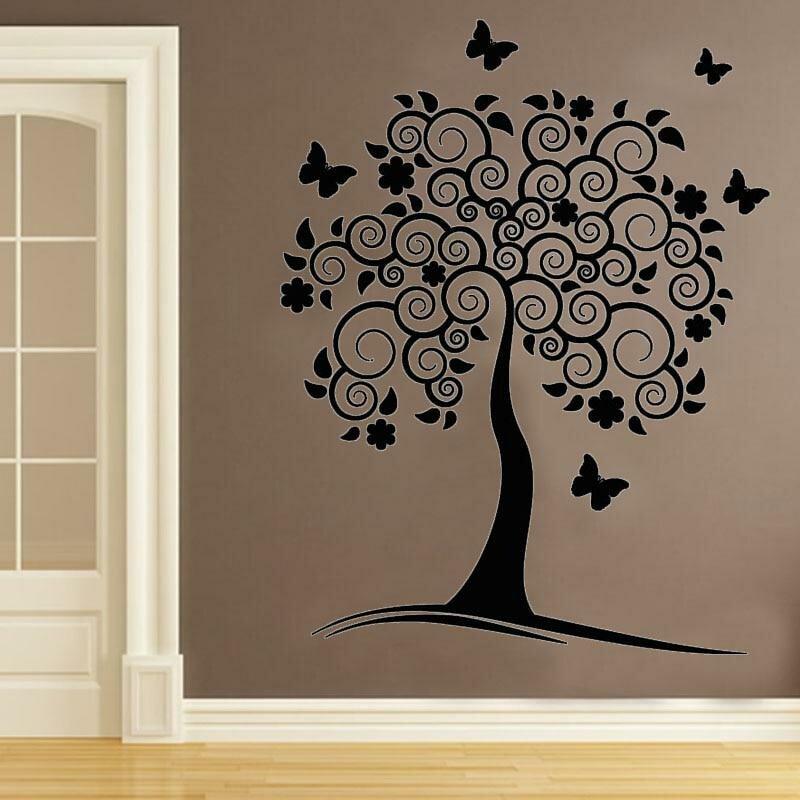 рисунки на стен картинки дерева всю