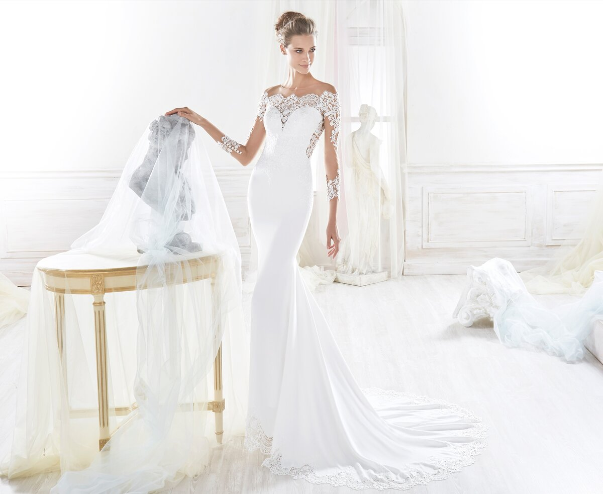 картинки эксклюзивные свадебные платья дром проще