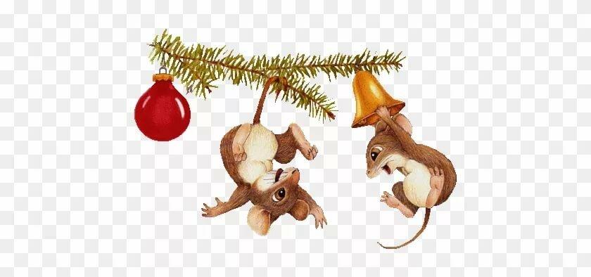 Новогодняя открытка с котами вечерницы мелкие