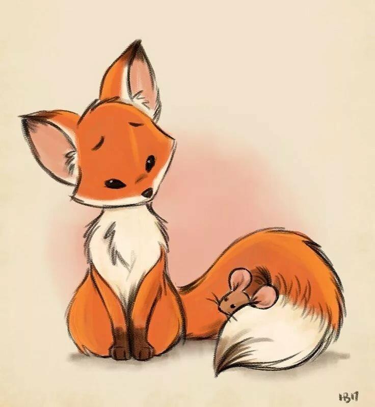 Няшные картинки лисичек