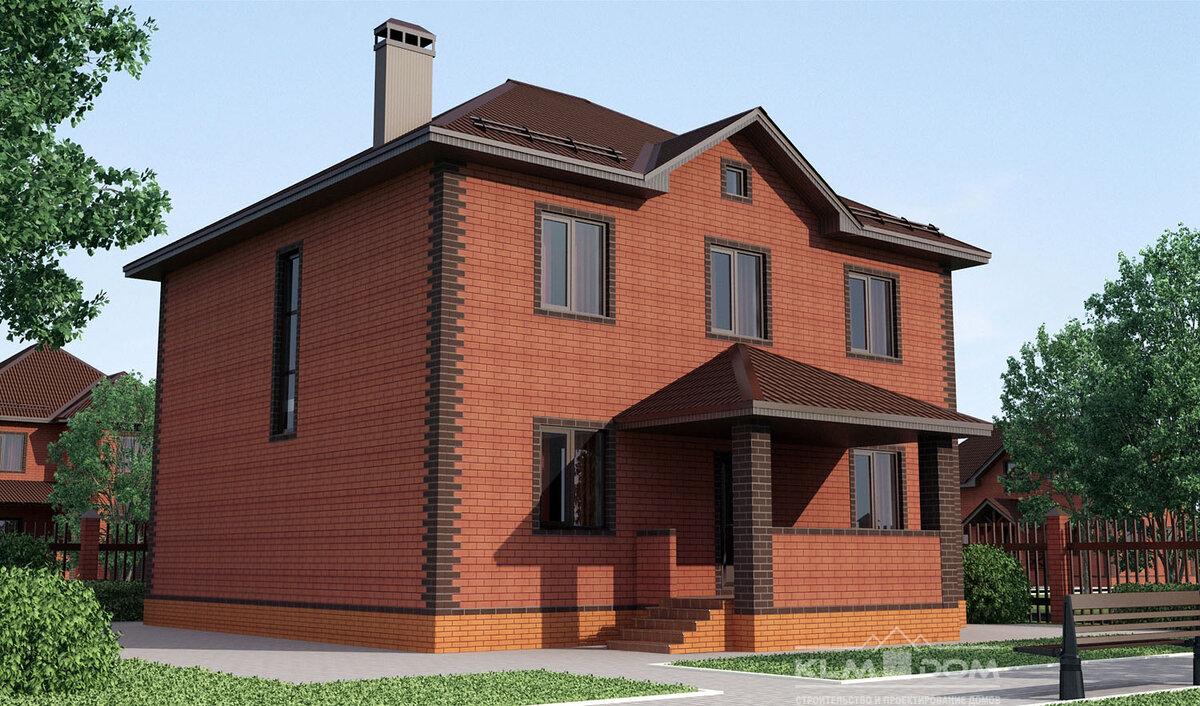Одноэтажный дом с цокольным этажом фото проект для
