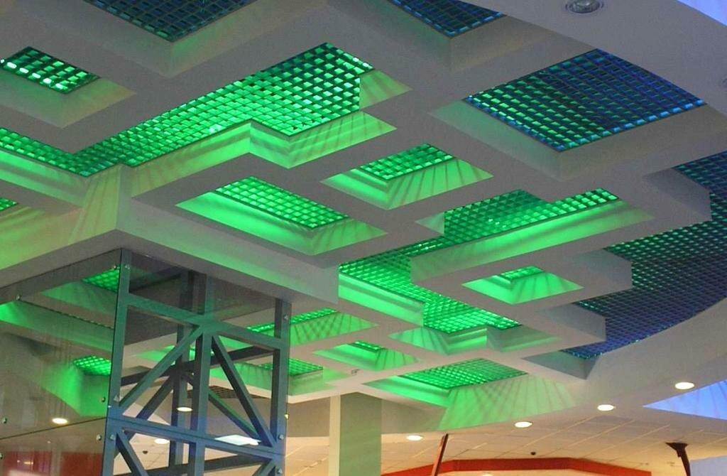 Потолок грильято фото №38